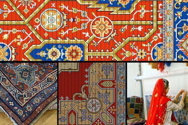 تاروپودی که نقش شکوفایی می زند، فرش قرمز برای هنر ایرانی