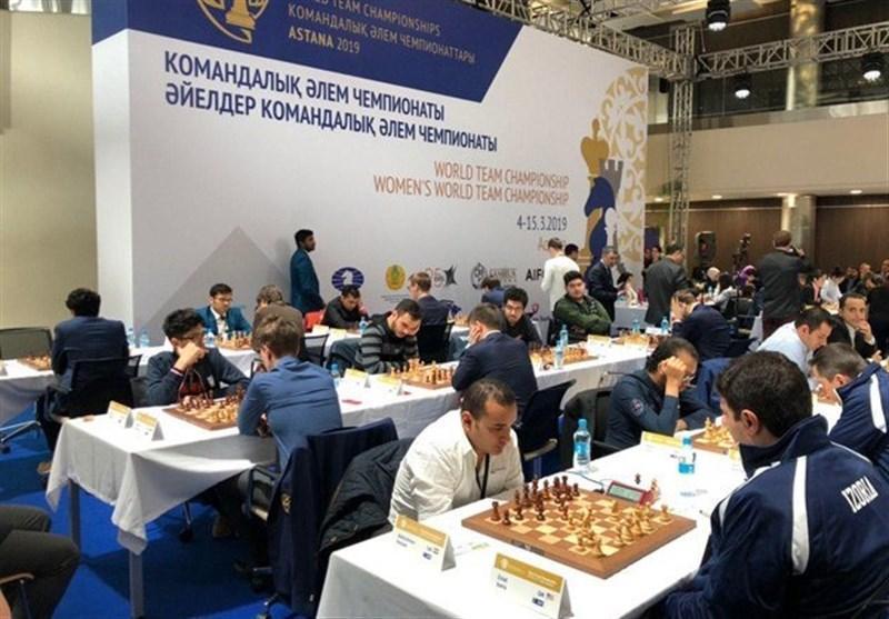 شطرنج قهرمانی دنیا، انگلیس سومین شکست ایران را رقم زد