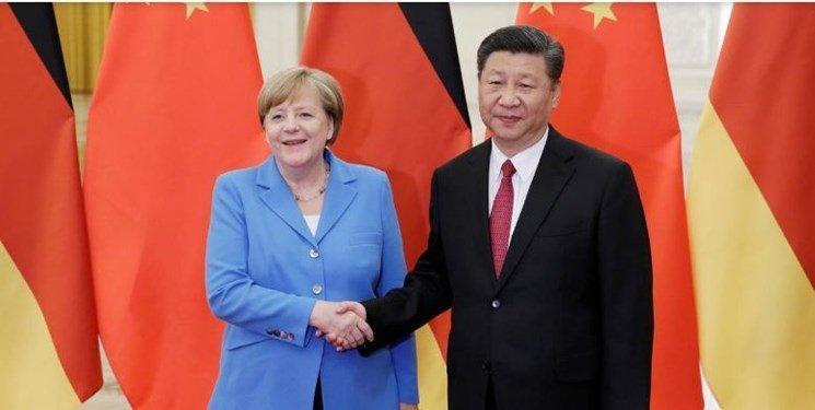 تاکید آلمان و چین برای حل مسالمت آمیز تنش ها بر سر ایران