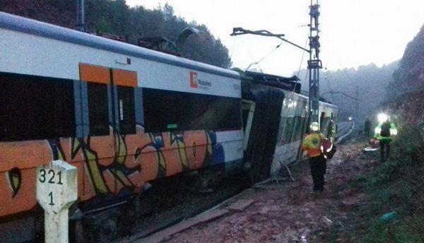 برخورد قطار با کامیون در آلمان