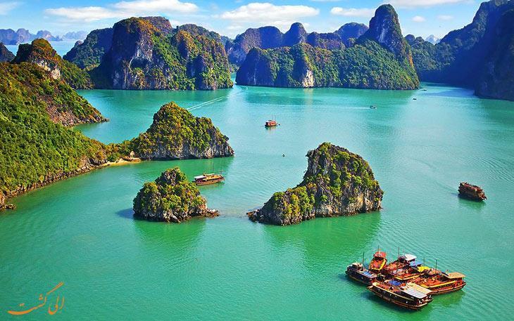 بهترین مسیرهای طبیعت گردی در ویتنام