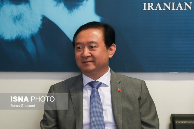 با تحریم های یک جانبه آمریکا مخالفیم، هیچ کشوری حق دخالت در روابط چین و ایران ندارد