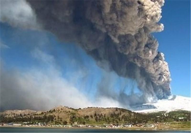 فوران کوه آتشفشان در اندونزی 8 کشته برجای گذاشت