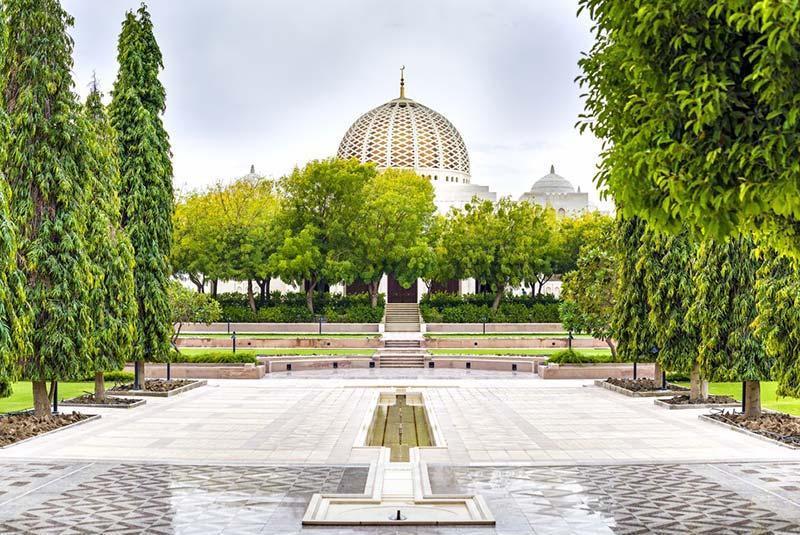 مسجد سلطان قابوس مسقط و فرش ایرانی آن