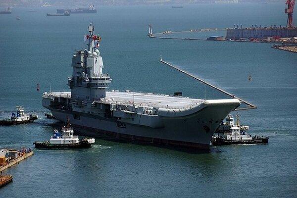 اولین ناو هواپیمابر ساخت چین مورد بهره برداری نهاده شد