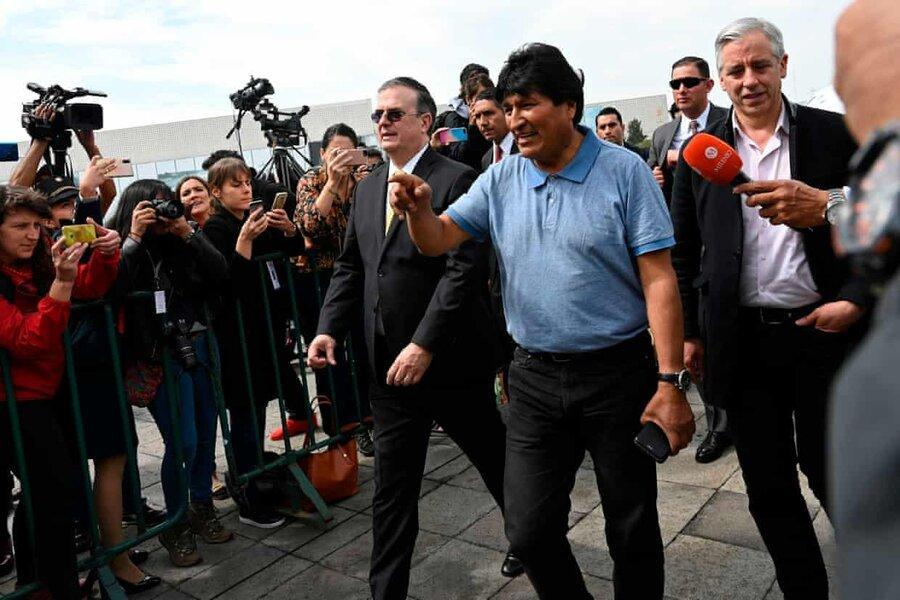 رئیس جمهور مستعفی بولیوی به مکزیک گریخت ، 50 هزار دلار برای سر مورالس