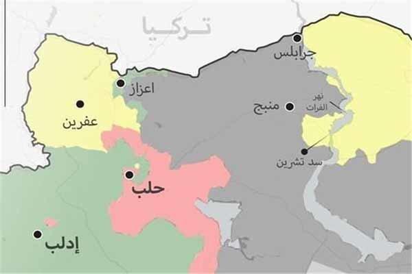 نبرد سنگین کردها با شبه نظامیان وابسته به ترکیه در شمال شرق حلب