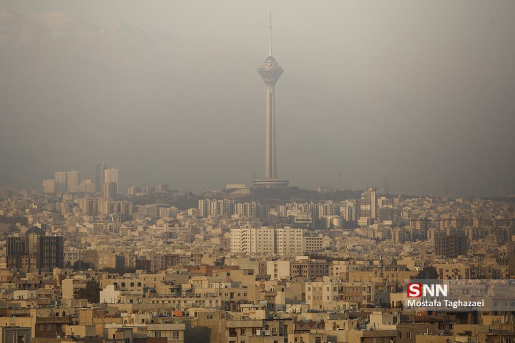 هوای امروز پایتخت ناسالم است، شاخص آلودگی به 152 رسید