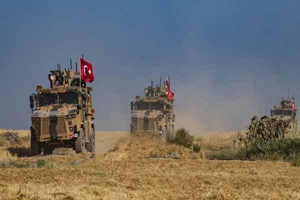حمله با خودروی بمب گذاری شده به نظامیان ترکیه در شمال سوریه