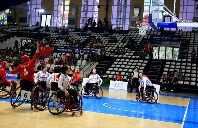 دو برد و یک باخت تیم ملی بسکتبال با ویلچر بانوان ایران