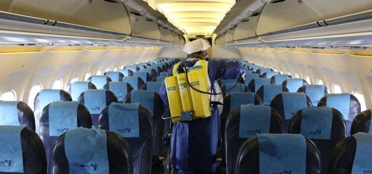 توقف 75 تا 100 درصدی پروازهای برخی فرودگاه های کشور به دلیل کرونا