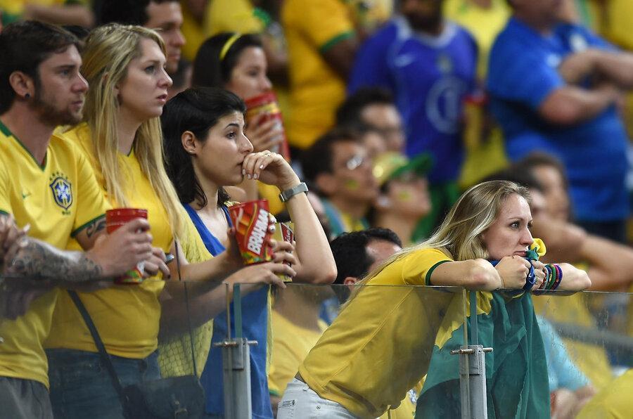 عکس های دیدنی سالروز شکست تاریخی برزیل در جام جهانی 2014