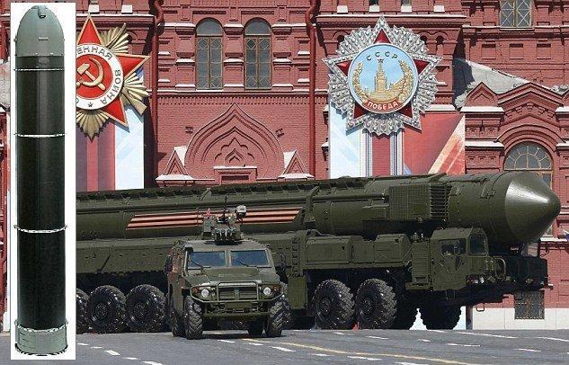 اعلام قوانین جدید استفاده از تسلیحات اتمی در روسیه