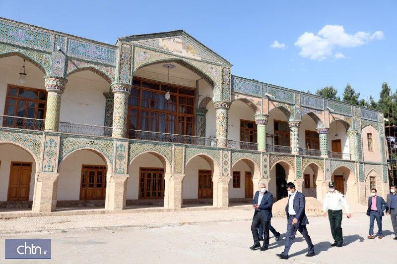 بازدید معاون میراث فرهنگی کشور از آثار و بناهای تاریخی خراسان شمالی