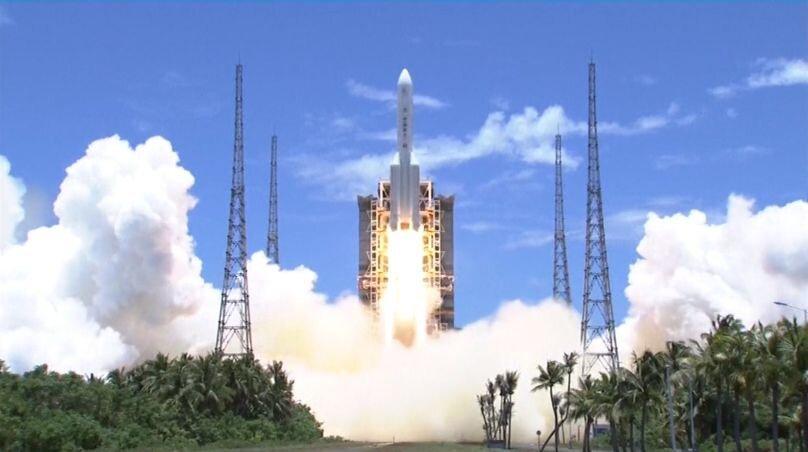 چین سفینه تیان ون-1 را به سوی مریخ فرستاد