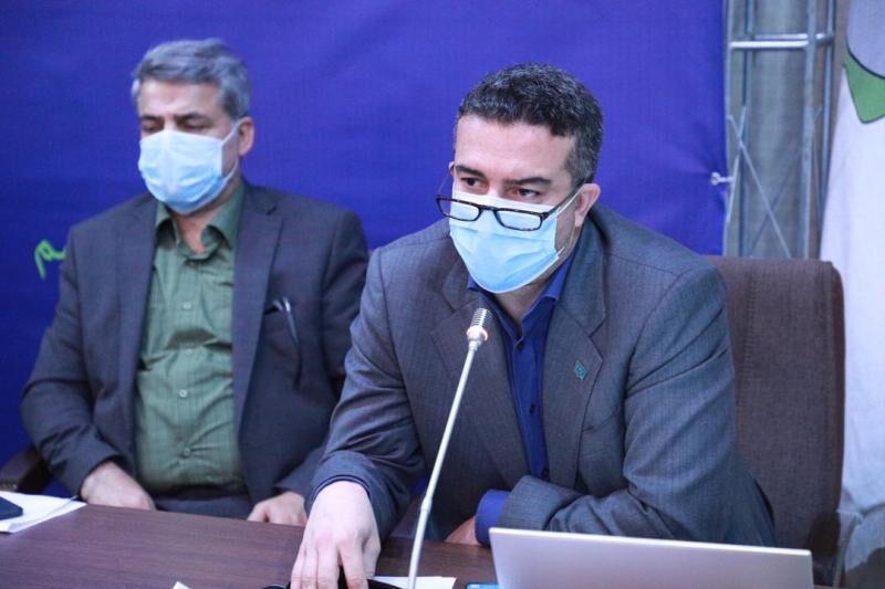 خبرنگاران روزانه 43 بیمار کرونایی در قزوین بستری می شوند