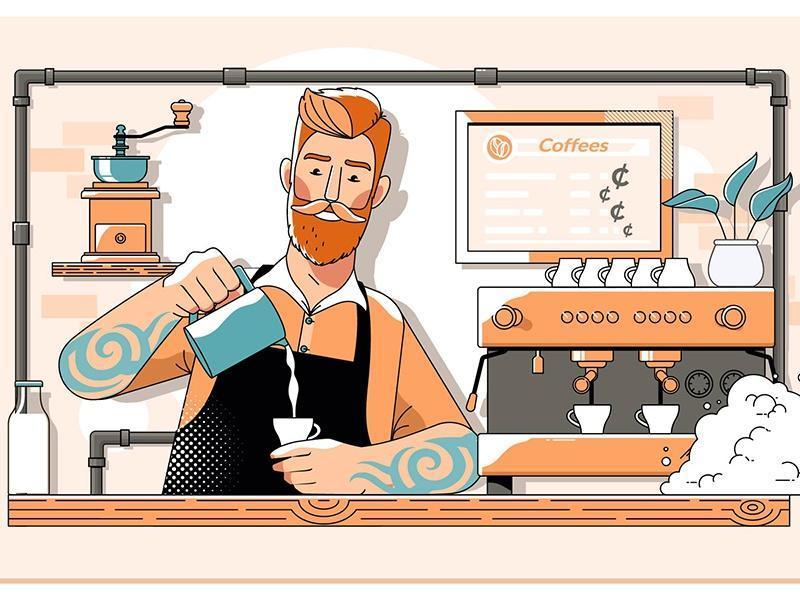 کافه داری در کانادا