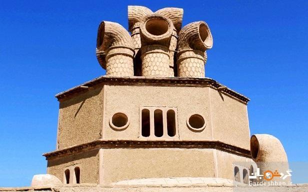 بادگیر چپقی؛از جذاب ترین جاذبه های تاریخی سیرجان
