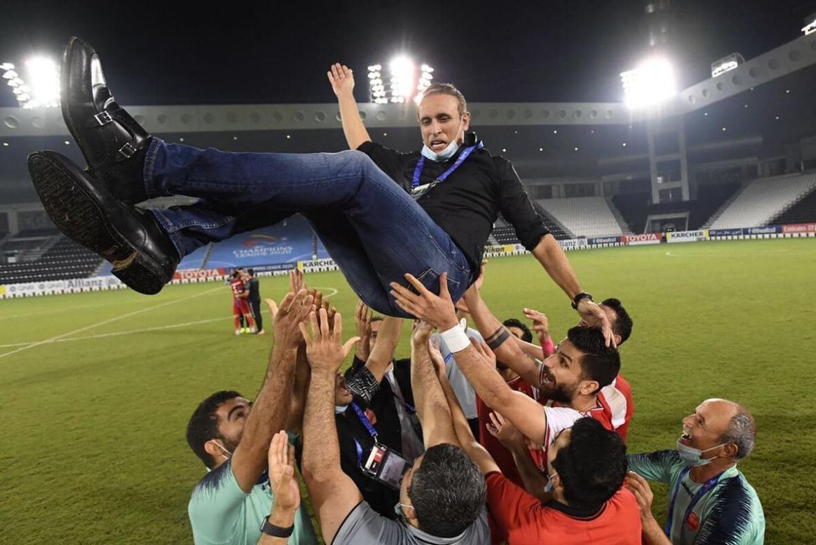 تیم منتخب لیگ قهرمانان آسیا در سیطره پرسپولیس