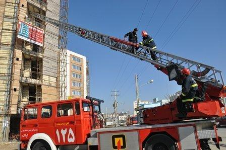 اضافه شدن 2 دستگاه خودروی اطفاء حریق به ناوگان آتش نشانی خرم آباد