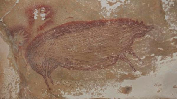کشف قدیمی ترین نقاشی دنیا، 45 هزار ساله در غار اندونزی