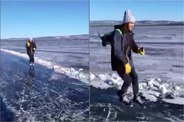 جت پک اسکی روی یخ ابداع شد