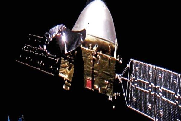 فیلم ورود کاوشگر چینی به مدار مریخ