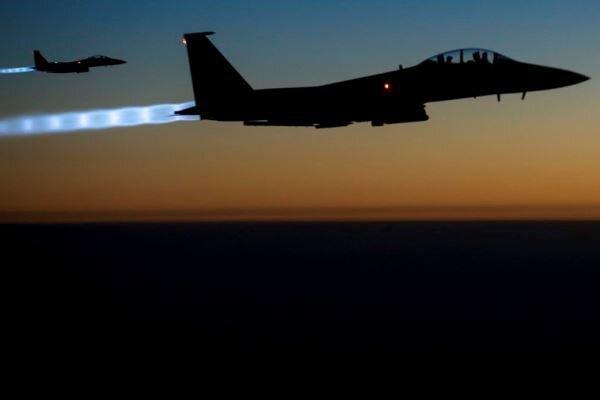 حمله هوایی آمریکا به خاک سوریه به دستور بایدن است