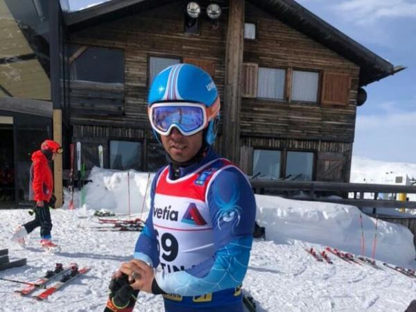 چهل و یکمی نماینده ایران در قهرمانی دنیا اسکی