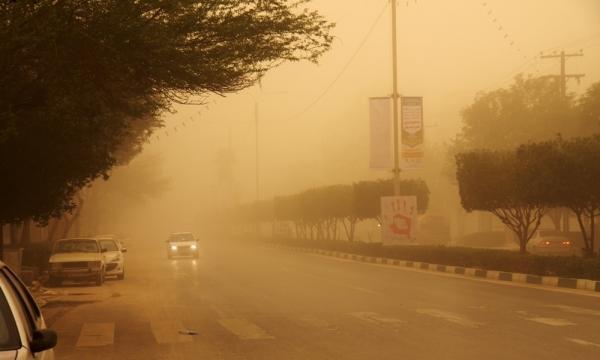 ثبت 11 روز هوای همراه با گرد و غبار در استان ایلام طی سال جاری