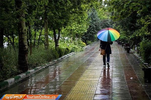رگبار باران و رعدوبرق در 19 استان ایران