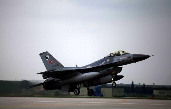 بمباران مناطق کردنشین سوریه توسط ترکیه