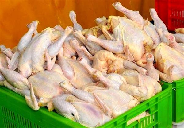 سرپیچی بعضی مغازه ها از کاهش قیمت مرغ، صف خرید هنوز در بعضی مناطق وجود دارد خبرنگاران