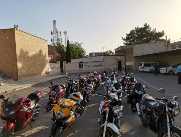 16 دستگاه موتورسیکلت سنگین از ابتدای اجرای طرح، توقیف شدند
