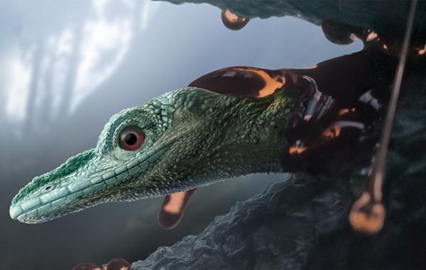 موجودی باستانی که تصور می شد دایناسوری کوچک باشد در واقع مارمولک است