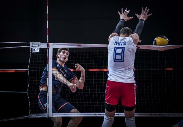 لیگ ملت های والیبال، صربستان و آمریکا پیروز شدند