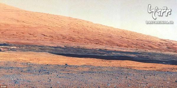 اولین تصاویر رنگی از سطح مریخ