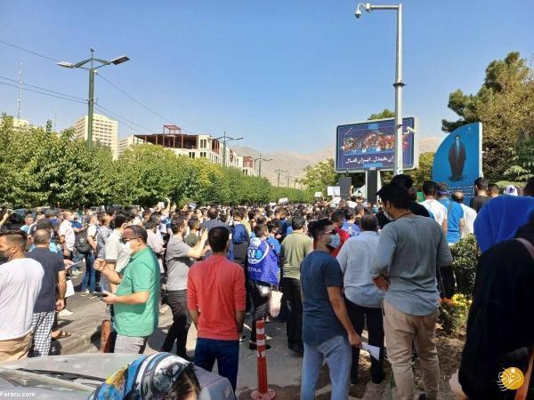 هواداران استقلال باز هم تجمع کردند
