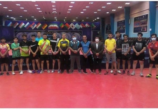 4 مرحله اردو برای تیم پارا تنیس روی میز جوانان، 12 نفر در فهرست اعزام به بحرین