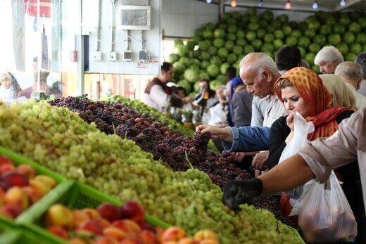 بازار میوه آماده نوبرانه ها می گردد